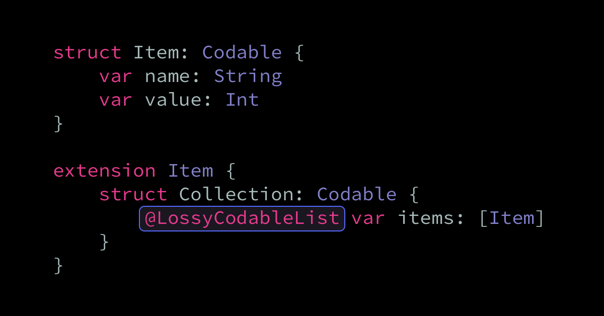Ignoring invalid JSON elements when using Codable
