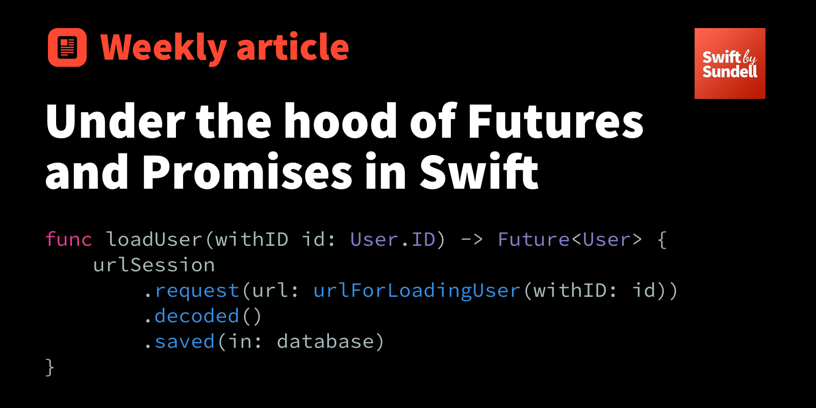Under the hood of Futures and Promises in Swift | Swift by Sundell