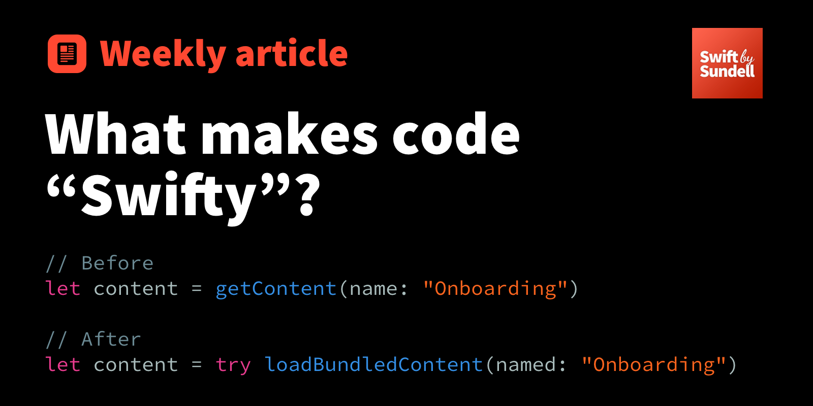 "What makes code ""Swifty""? - RapidAPI"