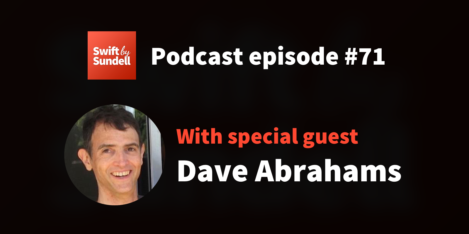 "71: ""Polymorphic interfaces"", with special guest Dave Abrahams"
