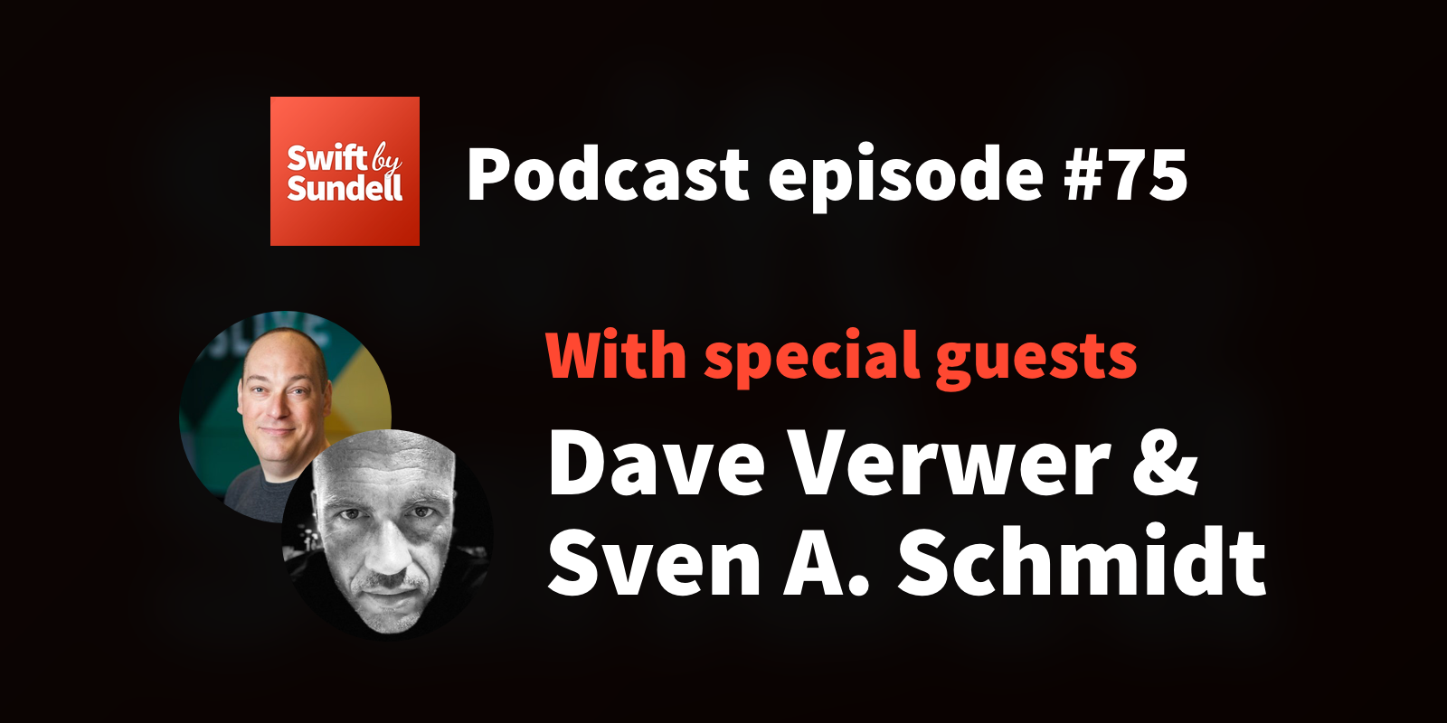 "75: ""The Swift package ecosystem"", with special guests Dave Verwer and Sven A. Schmidt"