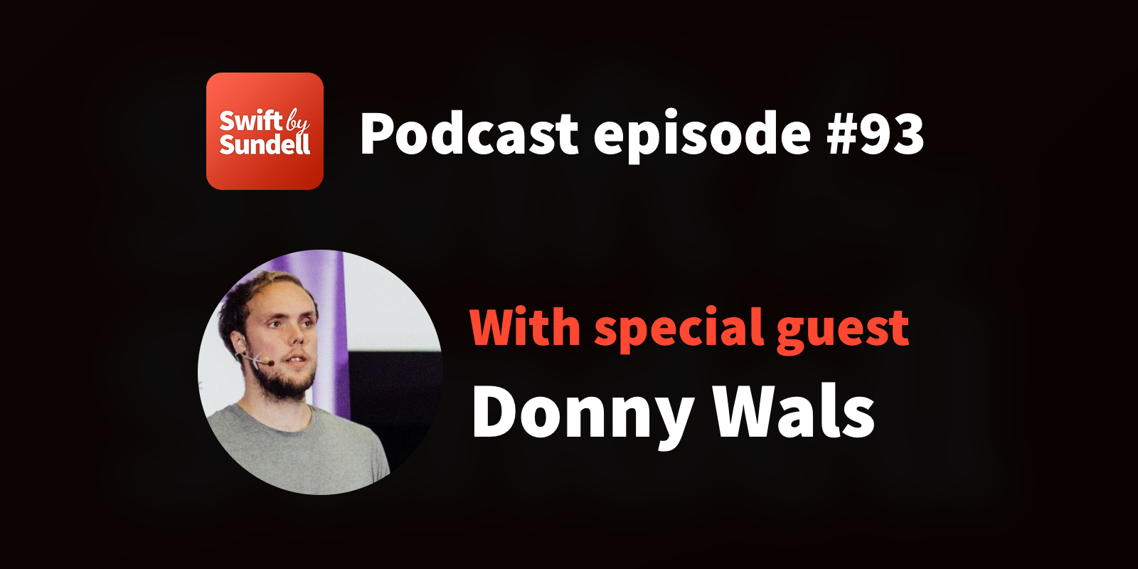 """Podcast: """"Combine and Core Data"""", with special guest Donny Wals"""