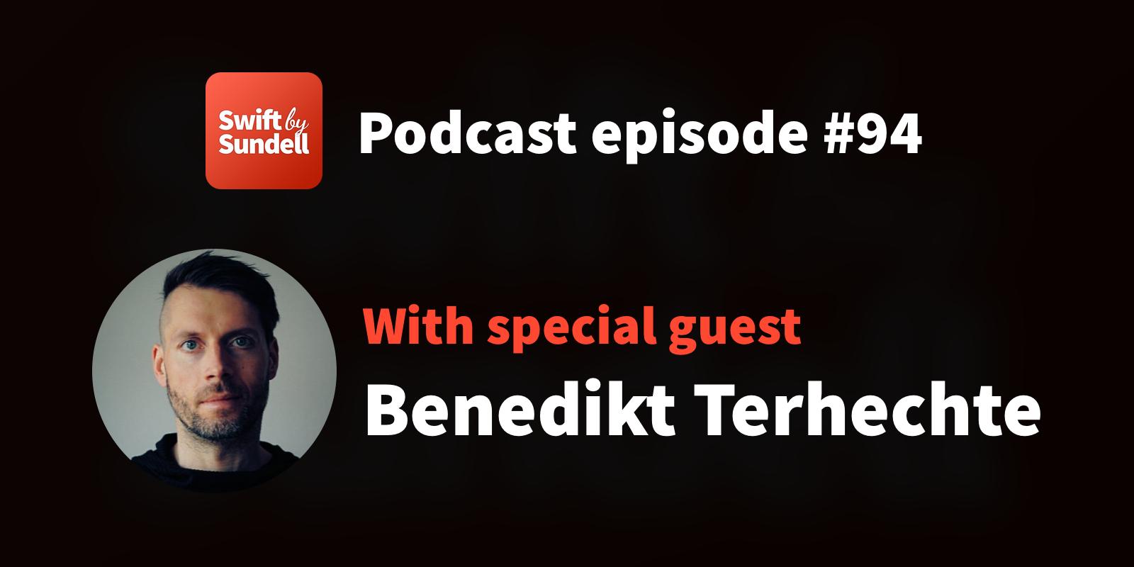 "Podcast: ""A Mac-like Mac app"", with special guest Benedikt Terhechte"